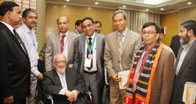 10th SAARC-AA Congress with Prof. S.N Samad Chowdhury